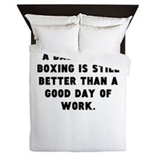 A Bad Day Of Boxing Queen Duvet