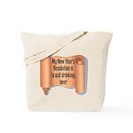 Beer Drinking Tote Bag
