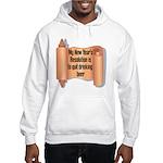 Beer Drinking Hooded Sweatshirt