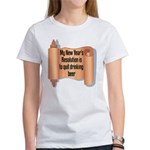 Beer Drinking Women's T-Shirt