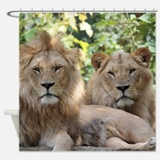 Lion20150801 Shower Curtain