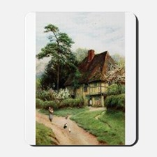 English Country Cottage Mousepad