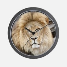 Lion20150802 Wall Clock