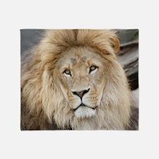 Lion20150802 Throw Blanket