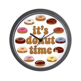 Donut Wall Clocks