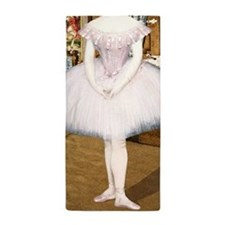 Pretty Ballerina Beach Towel