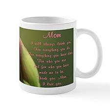 Mom Thank You Poem Mug