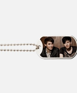 Dan and Phil dog tag Dog Tags