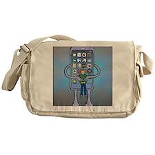 Siri is dead Messenger Bag