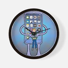 Siri is dead Wall Clock