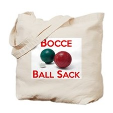 Bocce Ball Sack Tote Bag