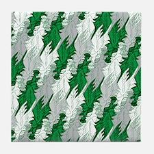 Eagles Football Tessellation Tile Coaster
