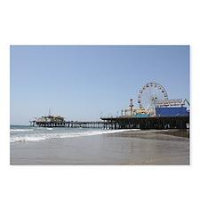 Santa Monica Pier Postcards (Package of 8)