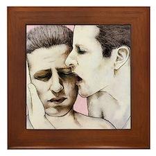 Real love Framed Tile