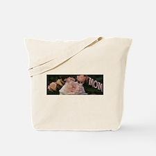Mom Pink Roses Tote Bag