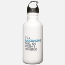Macroeconomics Thing Water Bottle