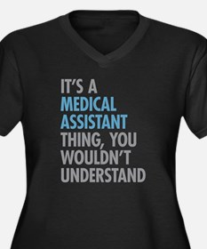 Medical Assistant Thing Plus Size T-Shirt