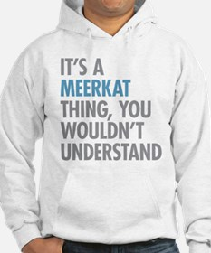 Meerkat Thing Jumper Hoody