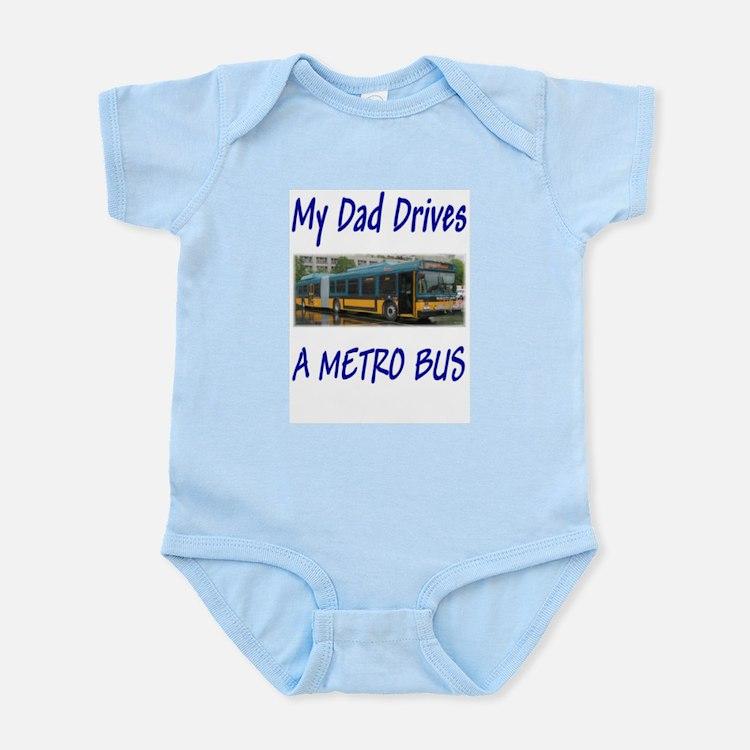 Cute Drive busses Infant Bodysuit