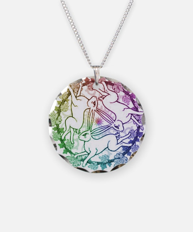 3 Hares Necklace