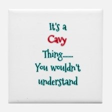 Cavy Thing Tile Coaster