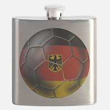 German Soccer Ball Flask