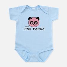 pink panda Body Suit