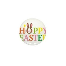 Happy Easter Mini Button (100 pack)
