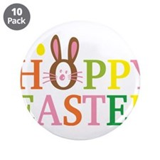 "Happy Easter 3.5"" Button (10 pack)"