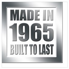 1965 Built To Last Poster