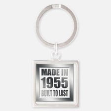 1955 Built To Last Square Keychain