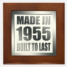 1955 Built To Last Framed Tile