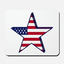patriotic Star USA american Mousepad