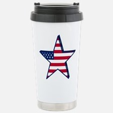 patriotic Star USA amer Travel Mug
