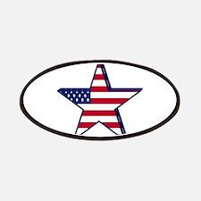 patriotic Star USA american Patch