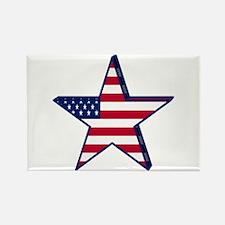 patriotic Star USA american Magnets