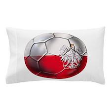 Poland Football Pillow Case