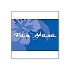 "Cute Aston hawaii Square Sticker 3"" x 3"""