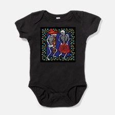 Day Of The Dead Dancers Baby Bodysuit