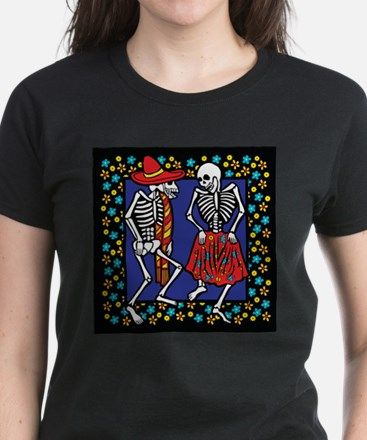 Day Of The Dead Dancers T-Shirt