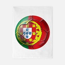 Portuguese Football Soccer Twin Duvet