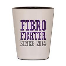 Fibro Fighter Since 2014 Shot Glass
