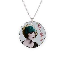 Art Deco Woman Hairband Necklace