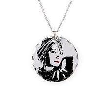 Greta in Black and White Necklace