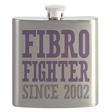 Fibro Fighter Since 2002 Flask