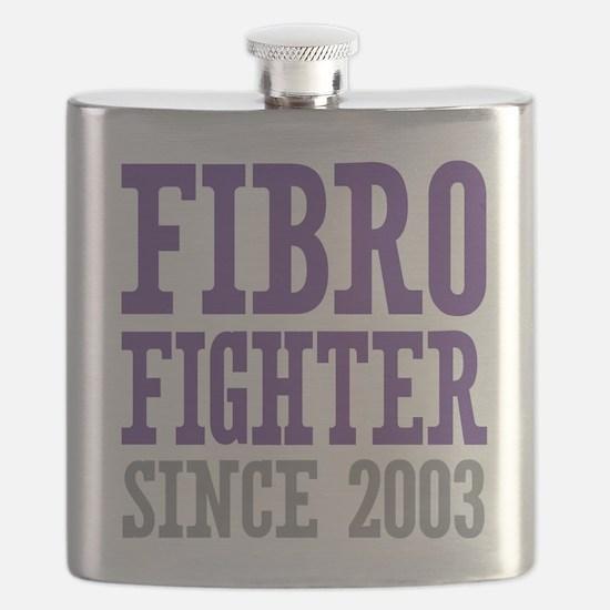 Fibro Fighter Since 2003 Flask