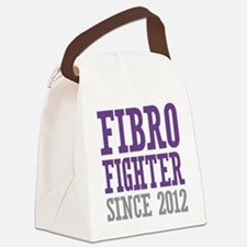 Fibro Fighter Since 2012 Canvas Lunch Bag