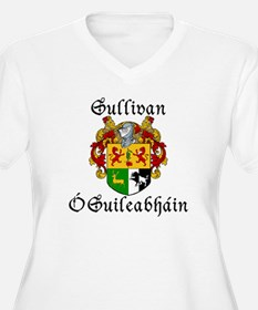 Sullivan In Irish & English Plus Size V-Neck Tee