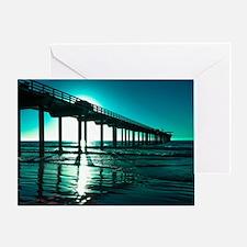 Scripps Pier Greeting Cards