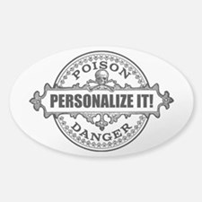 personalized poison Decal